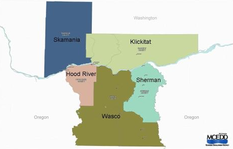 Mid Columbia Economic Development District's Area