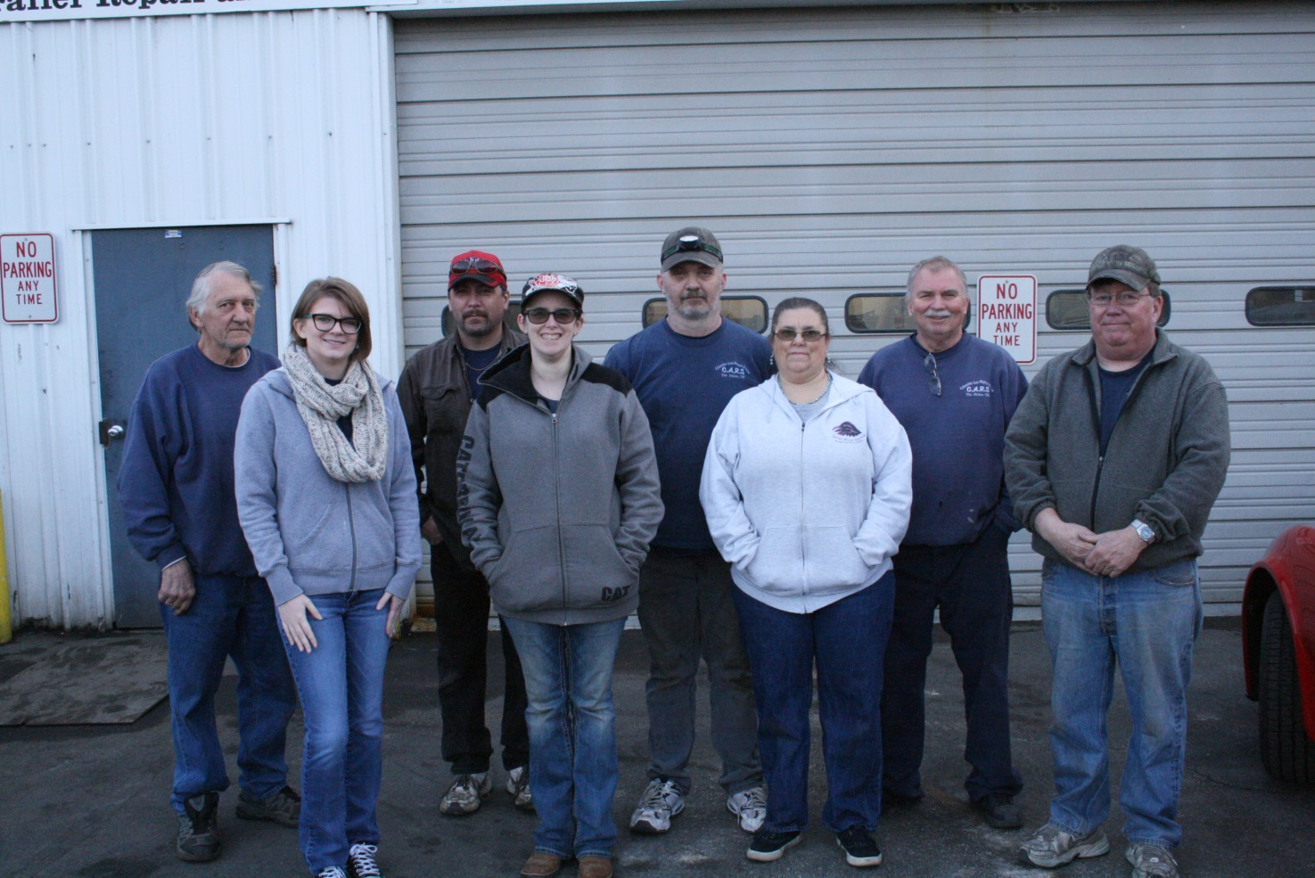 Columbia Auto Repair and Sales Staff