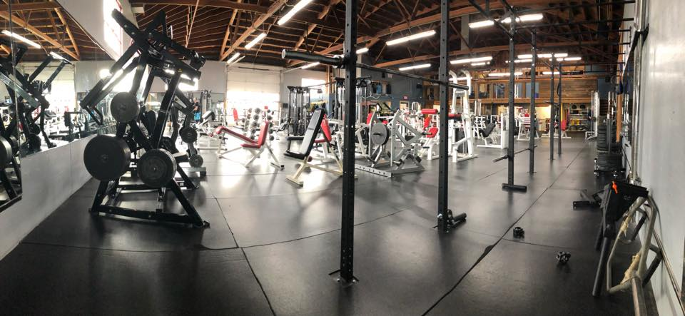 interior of Power Station Gym