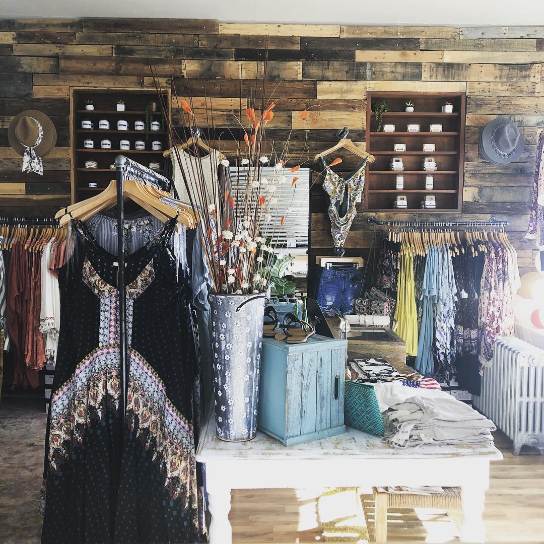 Interior of Terra Cotta Clothing store
