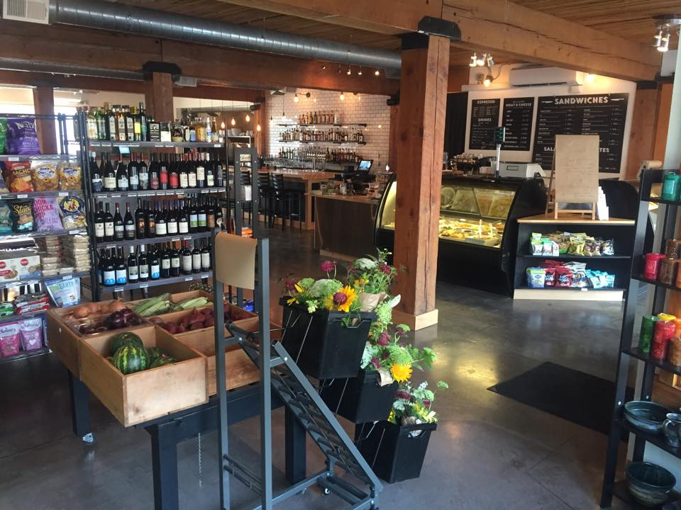 Interior of Feast Market in White Salmon