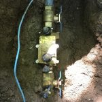 Backflow Assembly on residential irrigation system