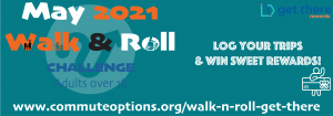 Walk and Roll Challenge for May